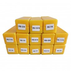 R8 Collet Set 13 pc
