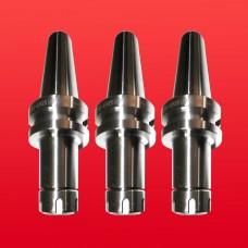 3 Pcs BT40 ER25 MILLING COLLET CHUCK HOLDER PROJ. 3.94 Bal 25,000 Rpm Prime