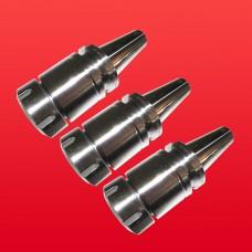 "3 Pcs BT40 ER40 Tool Holder Proj. 3.94"" Balanced to 25,000 RPM"