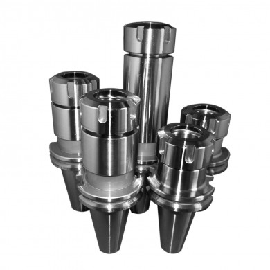 "CAT40 ER32 Collet Chuck 5 PCs Proj 2.76""-4""-6"" Balanced G2.5 @20K 0.0001"" runout"