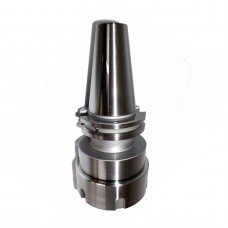 "CAT40 ER50 Collet Chuck w Proj. 4"" Balanced G2.5 @20,000RPM in Prime Q"