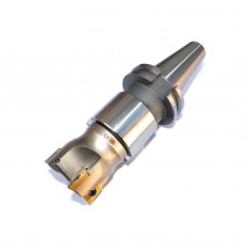 """2"""" Face Shell Mill Cutter 90 Degree 4 Flutes CAT40 Face Milling Cutter with Inserts"""