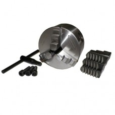 """4"""" 3 Jaw Self Centering Lathe Chuck with Extra set of Jaws"""