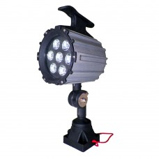 Machine LED Worklight 110V / 220V 9W Waterproof CNC Worklight With 100,000 service Hours