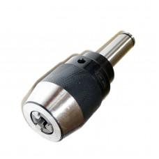 "1/2"" Keyless Drill Chuck Integral 3/4"" Straight Shank CNC High Precision"