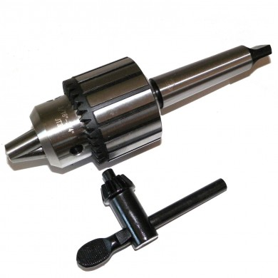 """3/16""""- 3/4"""" Heavy Duty Keyed Drill Chuck with 2MT Shank in Prime Quality"""