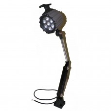 Machine Work Lamp LED 24V AC/DC 9W Waterproof CNC Worklight With 100,000 Service Hrs