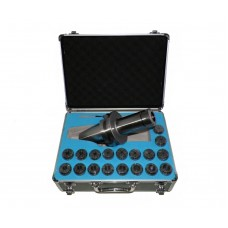 BT50 ER32 MILLING COLLET CHUCK SET 18 PCs 1/8