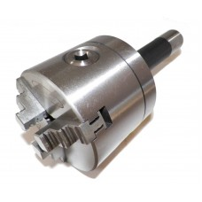 """4"""" 3 Jaw Precision Self Centering Lathe Chuck with R8 Shank (non-rotating) R8-100"""