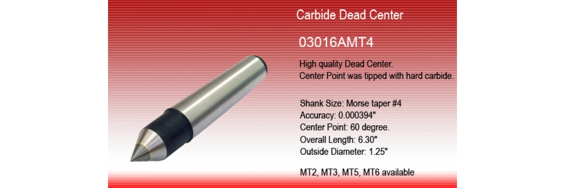 Carbide Lathe Dead Center
