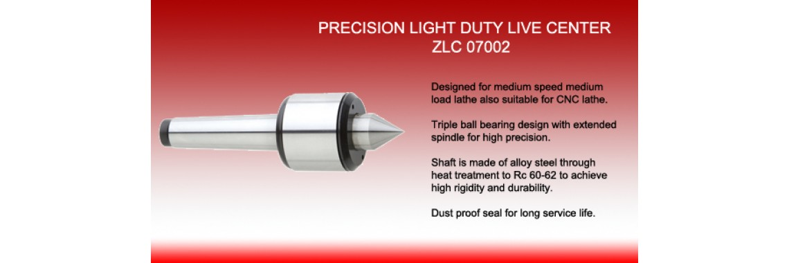 Precision Light Duty Live Center
